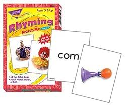 MATCH ME CARDS RHYMING 52/BOX
