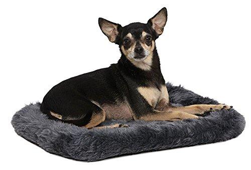 Midwest Abdeckung, für Haustierbett, für Hunde und Katzen, 18-Inch, Gray Plush