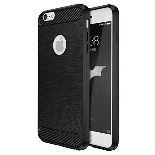 Coque iPhone 6s Plus / 6 Plus , ivencase Luxe Silicone Coque Ultra Fine en Gel Flex TPU Premium Flexible et Souple Etui Housse pour iPhone 6s Plus / 6 Plus 5.5