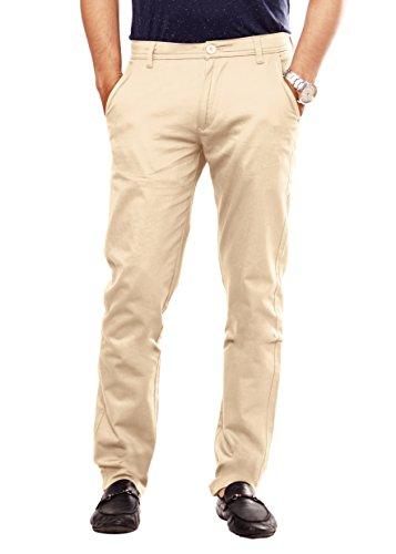 100-Cotton-Lycra-Slim-Fit-stretchable-Mens-Sleek-pant-by-Uber-Urban