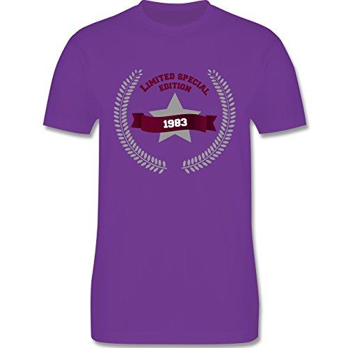 Geburtstag - 1983 Limited Special Edition - Herren Premium T-Shirt Lila