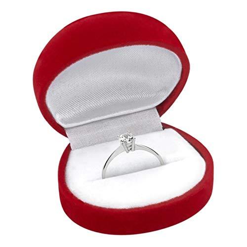 Hochwertiger Unique Verlobungsring aus 925 Silber mit Zirkonia VR0013 - 4