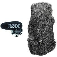 Rode microphones Videomic PRO + Microfono per Camera Digitale -33.6 dB, 2020000 Hz, Supercardioid, 200 Ω, con Cavo, Nero…