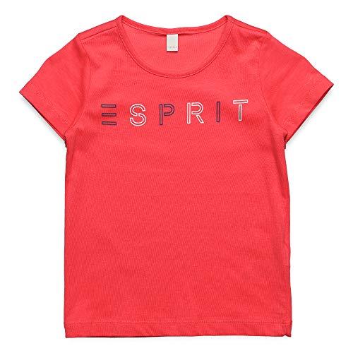 Rosa Mädchen T-shirt (ESPRIT KIDS Mädchen Tee Short Sleeve Perm T-Shirt, Rosa (Watermelon 324), 170 (Herstellergröße: XL))