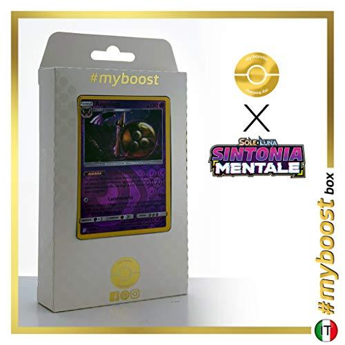 Aegislash (Durengard) 95HR/236 Wendbare Holo #myboost X Sole E Luna 11 Sintonia Mentale - Box mit 10 Italienische Pokémon-karten
