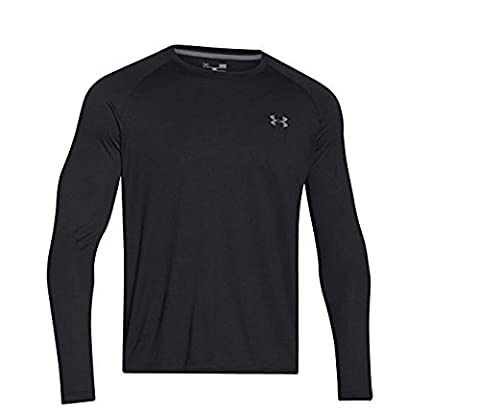 Under Armour UA Tech LS Tee Chemise à manches longues Homme Black FR : M (Taille Fabricant : MD)