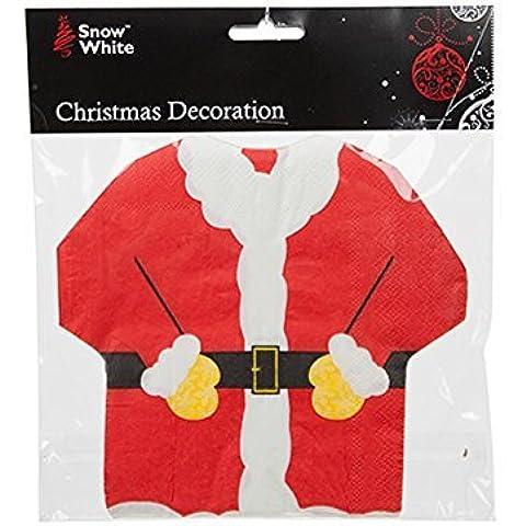 Snow White Branded Santa Suit 2ply Christmas Festive Napkins by Disney