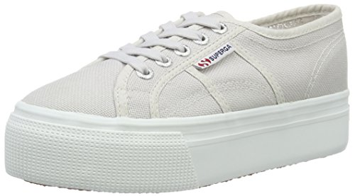 Superga Damen 2790 Acotw Linea Up and Sneakers Grau (grey seashell) 4vruGMu