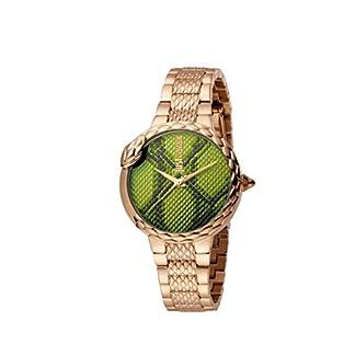 Just Cavalli – Reloj analógico de Cuarzo para Mujer con Correa de Acero Inoxidable JC1L030M0095