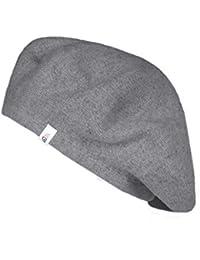 Zwillingsherz Baskenmütze mit Wolle - Hochwertige Sommer Beanie Barette für Damen Herren Mädchen Jungen - Hat - Unisex - weich Elegante Schieber-Mütze perfekt für Jeden Anlass