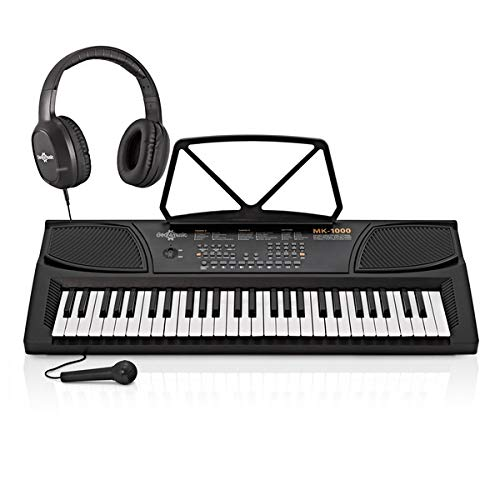 MK-1000 Tastiera Portatile 54 Tasti di Gear4music - Starter Pack