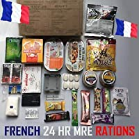 RCIR French Armed Forces [24 hr combat ration] pack MRE ARMY MEAL Emergency Set Food MILITARY Authentic