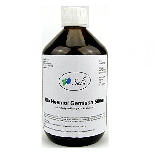 Sala Neemöl kaltgepresst Bio mit Rimulgan Emulagtor 500 ml