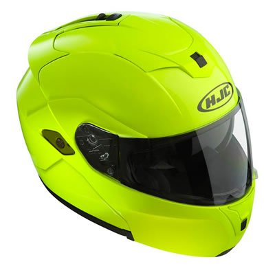 Preisvergleich Produktbild HJC SY-MAX III Solid Fluo Klapp-Helm,  XXL