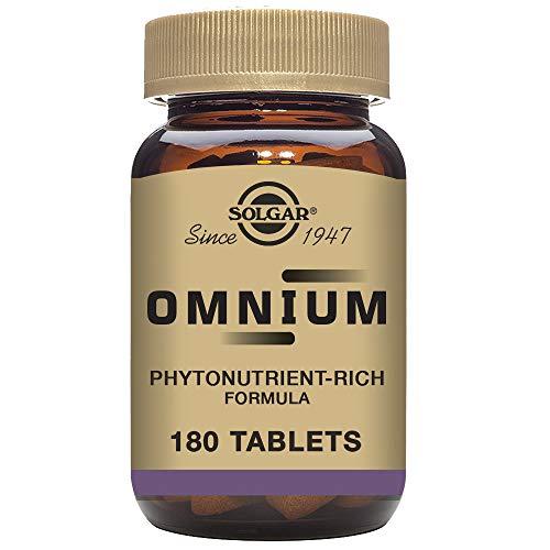 Solgar Omnium Vitaminas - 180 Tabletas