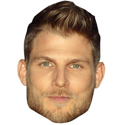 Celebrity Cutouts Travis Van Winkle Maske aus Karton - Travis Brillen