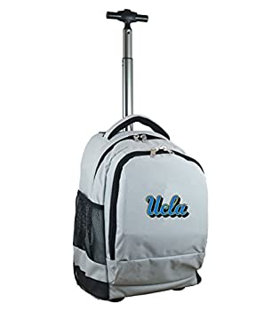 "Denco Unisex Ncaa Ucla Bruins Expedition Wheeled Backpack Inches, Grey, 19"" 0"