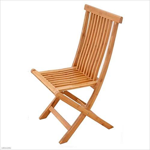 QIDI Chaise pliante , Chaise de salle à manger Chair Chaise en bambou Chair Chaise de pêche , Tabouret pour la lessive , Bambou , Simple moderne Facile à transporter - Disponible en différentes taille