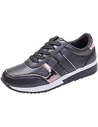 QUICKLYLY Zapatillas de Mujer Zapatos de Corriendo Calzado Casual y Deportivo Casuales De Moda De Viaje…