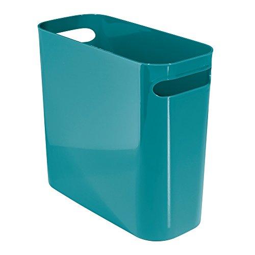 InterDesign Una Can-Cestino Trash, 25 cm, colore: foglia di
