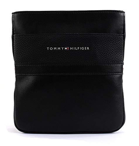 Tommy Hilfiger Herren Th Business Mini Crossover Schultertasche, Schwarz (Black), 1x23x21 cm