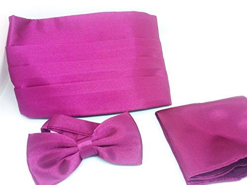 wending accessories Herren Kummerbund violett fuchsia onesize