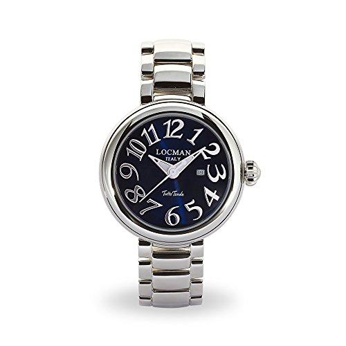 Locman Italy Mujer Reloj Tutto Tondo Azul Acero 40mm Ref. 361