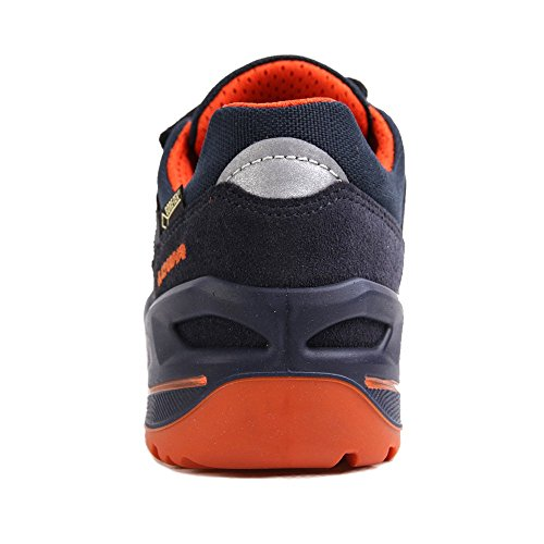 Lowa Simon II VCR GTX Lo Kids Navy Orange Bleu