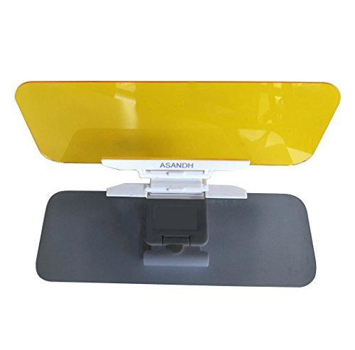 Auto Sonnenblende Erweiterung Glare Shield Blendschutz Universal KFZ Brillen 2in 1Shade Board Tag und Nacht zudem blendfrei., Treiber Schwimmbrille für Tag & Nacht fahren