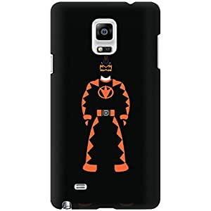 URBAN KOLOURS Original Designer Printed Hard Case Back Cover for Samsung Galaxy Note 4 (Orange Ranger)