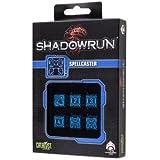Q-Workshop QWOSDH67 - Shadowrun: Spellcaster, schwarz/blau