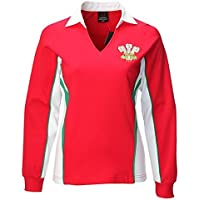 Wales Welsh Long Sleeve Ladies Rugby Shirt (18/20)