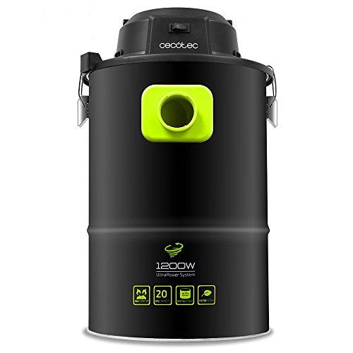 Cecotec Aspirador de Cenizas PowerAsh. 1200 W. Boquilla XXL. 3 procesos de...