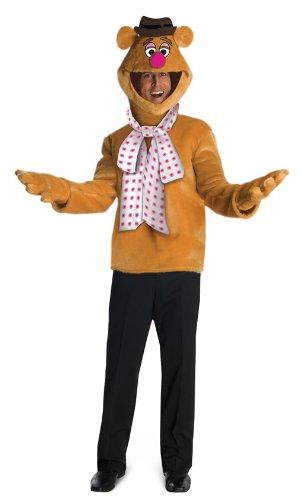 Fozzie Bär Kostüm (Kostüme Bär Erwachsene Fozzie)