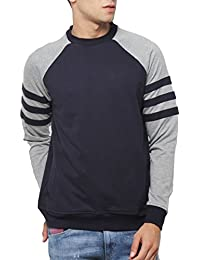 SayItLoud Solid Men Round Neck Sweatshirt