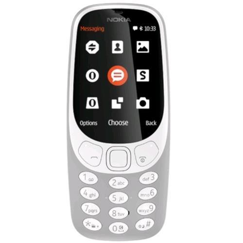 Nokia Téléphone GPRS (Ecran : 2,4 pouces - SIM - Android) Gris