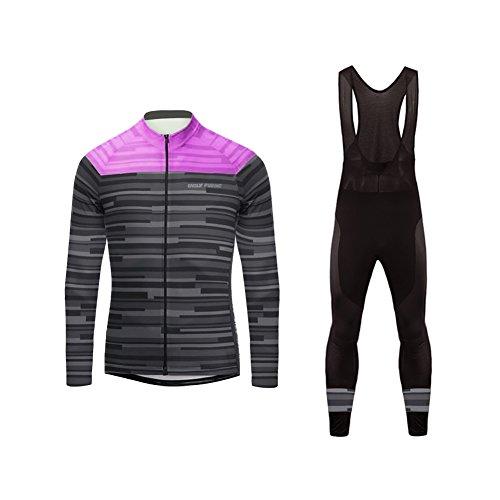 UGLYFROG #19 2018 Radsport thermal Trikots Lange Ärmel Sport & Freizeit Shirts+ Bib Lange Hosen Anzüge Winter with Fleece Style -