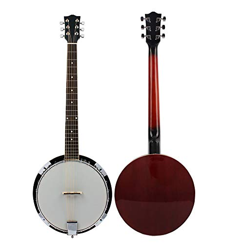 NUYI Klassisches professionelles Musikinstrument im klassischen 6-String-Banjo