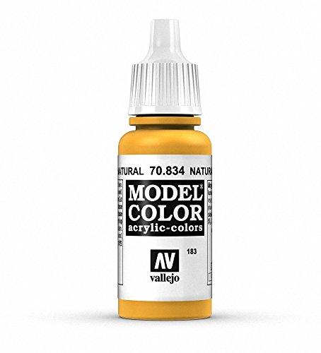 Vallejo Model Color Acrylfarbe, 17 ml natürliches holz (Natürliche 17)