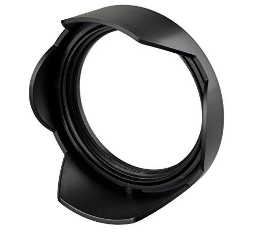 ayex Sonnenblende Gegenlichtblende umgekehrt montierbar, Reversible Tulpe 77mm