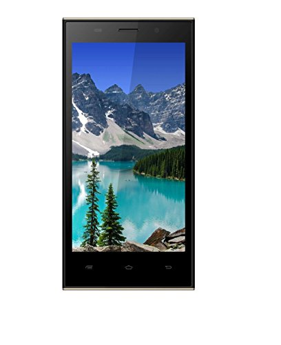 Spice Flo 6150 5 inch Dual Sim Black Touchscreen Mobile