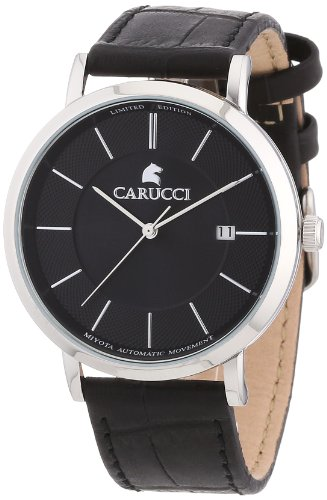 Carucci Analogue Automatic CA2183BK Gents Watch