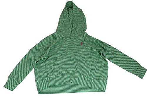 Polo_Ralph Lauren Mädchen Kapuzenpullover Gr. 3 Jahre, grün