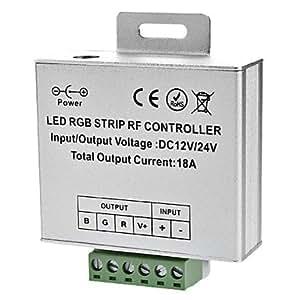 Wireless Touch 5-Tasten-Fernbedienung für RGB LED Leiste, 12/24 V) (DE)