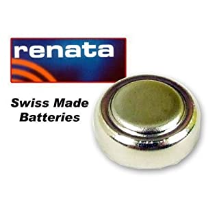 Sustituye Renata Battery Made Of Silver Swiss & 1.55 Voltage Units With 379 Replaces (SR521SW)