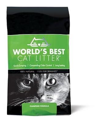 Worlds Best Cat Litter Bag Clumping Formula, 6.35kg from Worlds Best Cat Litter