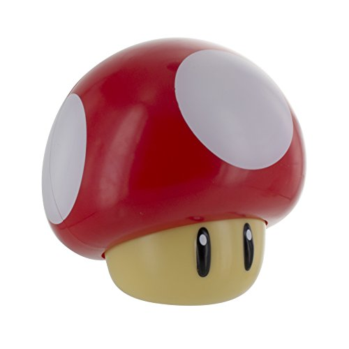 Super Mario Mushroom Light with Sound, Multi-Colour