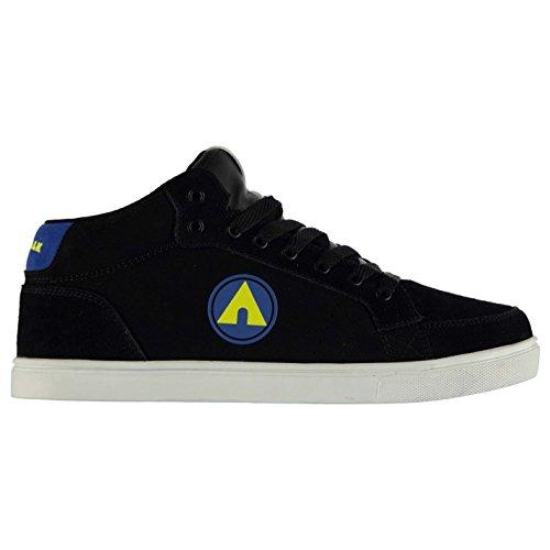 airwalk-drip-mid-top-skate-scarpe-scarpe-scarpe-da-ginnastica-da-uomo-nero-blu-black-blue-uk7-eu41