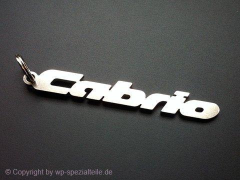 VW Golf 1 Cabrio Schlüsselanhänger 3 4 16V G60 VR6 TDI 1.8 GTI Cabriolet Emblem Keychain Key Chain Keyring Pendant Fob