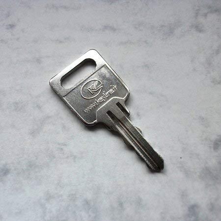 Briefkastenschlüssel, Ersatzschlüssel der Serie FH... (FH001 bis FH400) für Briefkasten und Briefkastenanlagen von Renz, JU und anderen Herstellern. Ausschlaggebend ist der Code. Schlüssel FH - Code 160